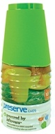 Preserve - Reusable Recycled Plastic Cups 16 oz. Apple Green - 10 Piece(s) by Preserve