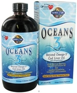 Image of Garden of Life - Oceans 3 Beyond Omega-3 Cod Liver Oil Orange Tangerine - 16 oz.