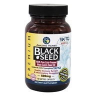 Black Seed Pure Cold-Pressed Oil 500 mg. - 90 Softgels