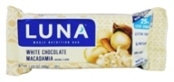 Clif Bar - Organic Luna Nutrition Bar for Women White Chocolate Macadamia - 1.69 oz.