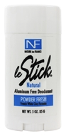Image of Nature de France - Le Stick Natural Aluminum Free Deodorant Powder Fresh - 3 oz.