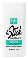 Nature de France - Le Stick Natural Aluminum Free Deodorant Stick Unscented - 3 oz.