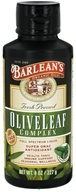 Image of Barlean's - Fresh Pressed Olive Leaf Complex Full Spectrum Liquid Peppermint - 8 oz.