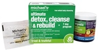 Michael's Naturopathic Programs - Ultimate Detox, Cleanse & Rebuild Kit - $25.59