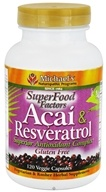 Image of Michael's Naturopathic Programs - SuperFood Factors Acai & Resveratrol - 120 Vegetarian Capsules