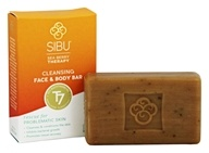 Sibu Beauty - Cleanse and Detox Sea Buckthorn Facial Bar Soap - 3.5 oz. (858180002051)