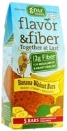 Image of Gnu Foods - Flavor & Fiber Bars Pack Banana Walnut - 5 Bars
