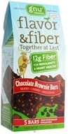 Image of Gnu Foods - Flavor & Fiber Bars Pack Chocolate Brownie - 5 Bars
