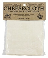 Cheesecloth Ultra Fine 100% Natural Cotton - 9 ft. by Regency