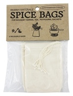 Image of Regency - Reusable Spice Bags 100% Natural Cotton - 4 Bags