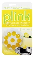 Phelps Industries - Plink Garbage Disposal Cleaner and Deodorizer Fresh Lemon - 10 Insert(s)