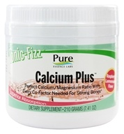 Pure Essence Labs - Ionic-Fizz Calcium Plus Raspberry Lemonade Flavor - 7.41 oz.