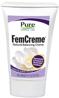Pure Essence Labs - FemCreme Natural Progesterone Cream Tube - 2 oz.