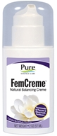 Pure Essence Labs - FemCreme Natural Progesterone Pump - 2 oz.