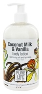 Pure Life - Body Lotion Coconut & Vanilla - 14.9 oz. (895172001449)