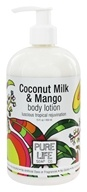 Pure Life Soap Co. - Body Lotion Coconut Milk & Mango - 15 oz.