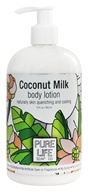 Image of Pure Life - Body Lotion Coconut Milk - 15 oz.