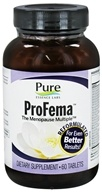 Image of Pure Essence Labs - ProFema The Menopause Multiple - 60 Tablets
