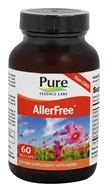 Pure Essence Labs - AllerFree Enzymes For Allergies - 45 Vegetarian Capsules - $15.99