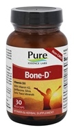 Pure Essence Labs - Bone-D Vitamin D Formula - 30 Capsules