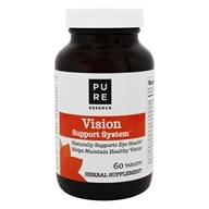 Pure Essence Labs - Vision Herbal Support System for Eye Health - 60 Tablets