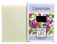 Image of Pure Life - Bar Soap Lavender - 4.4 oz.