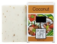 Pure Life - Bar Soap Coconut - 4.4 oz. by Pure Life