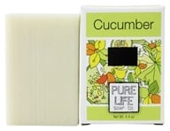 Pure Life - Bar Soap Cucumber - 4.4 oz. by Pure Life