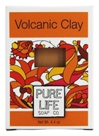 Pure Life - Volcanic Clay Bar Soap - 4.4 oz. by Pure Life