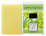 Pure Life - Bar Soap Lemongrass & Mint - 4.4 oz. by Pure Life