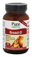 Image of Pure Essence Labs - Breast-D Vitamin D Formula - 30 Capsules
