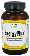 Pure Essence Labs - EnergyPlus For Body Mind & Spirit - 60 Tablets - $23.99