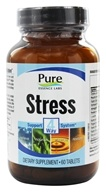 Image of Pure Essence Labs - Stress 4 Way Support System - 60 Tablets