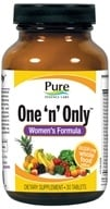 Pure Essence Labs - One 'n' Only Women's Formula - 30 Tablets by Pure Essence Labs