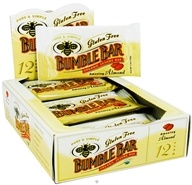 Bumble Bar - Organic Sesame Bar Gluten Free Amazing Almond - 1.4 oz. Formerly Organic Energy Bar, from category: Health Foods