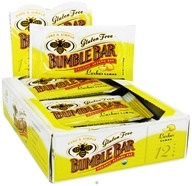 Image of Bumble Bar - Organic Sesame Bar Gluten Free Lushus Lemon - 1.4 oz. Formerly Organic Energy Bar