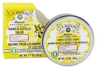 JR Watkins - Naturals Apothecary Hand & Cuticle Salve Lemon - 2.1 oz. (818570002559)