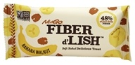 NuGo Nutrition - Fiber d'Lish Bar Banana Walnut - 1.6 oz.