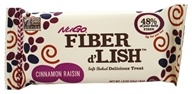 Gnu Foods - Flavor & Fiber Bars Cinnamon Raisin - 1.6 oz.