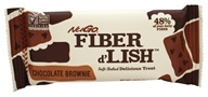 Gnu Foods - Flavor & Fiber Bars Chocolate Brownie - 1.6 oz. by Gnu Foods