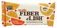 Gnu Foods - Flavor & Fiber Bars Orange Cranberry - 1.6 oz.