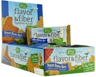 Gnu Foods - Flavor & Fiber Bars Peanut Butter - 1.6 oz. by Gnu Foods