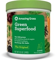 Amazing Grass - Green SuperFood All Natural Drink Powder 30 Servings Original - 8.5 oz.