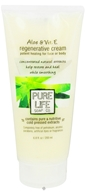Image of Pure Life - Aloe & Vit. E Regenerative Cream - 6.8 oz.