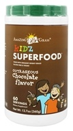 Amazing Grass - Kidz SuperFood Powder Outrageous Chocolate Flavor - 360 Grams by Amazing Grass