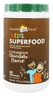 Amazing Grass - Kidz SuperFood Powder Outrageous Chocolate Flavor - 360 Grams