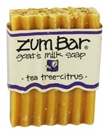 Indigo Wild - Zum Bar Goat's Milk Soap Tea Tree Citrus - 3 oz. - $5.18