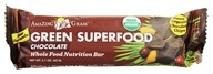 Amazing Grass - Green SuperFood Whole Food Energy Bar Chocolate - 2.1 oz. by Amazing Grass