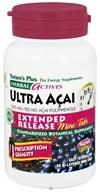 Nature's Plus - Herbal Actives Ultra Acai Extended Release Mini-Tabs 1200 mg. - 60 Tablets, from category: Nutritional Supplements