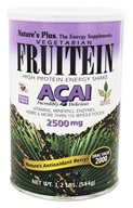 Image of Nature's Plus - Vegetarian Fruitein Acai High Protein Energy Shake 2500 mg. - 1.2 lbs.